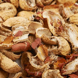 Superficie ricoperta di coperture dell'arachide Fotografia Stock Libera da Diritti