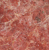 Superficie roja de mármol Fotografía de archivo libre de regalías