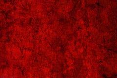 Superficie rossa della parete del grunge, priorità bassa Fotografie Stock