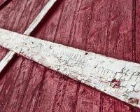 Superficie rossa di legno del granaio Fotografia Stock Libera da Diritti