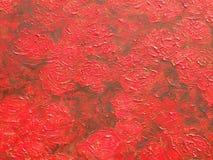 Superficie rossa di struttura della pittura royalty illustrazione gratis