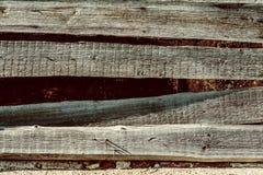 Superficie ruvida di legno del vecchio fondo strutturale Immagine Stock Libera da Diritti