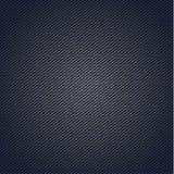 Superficie a strisce del tessuto per priorità bassa blu Fotografia Stock