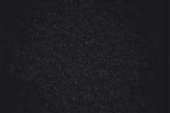 Superficie strutturale nera di tessuto artificiale Fotografia Stock Libera da Diritti