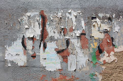 Superficie strutturata fresca della parete Fotografia Stock