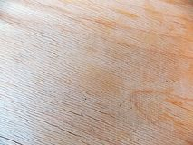 Superficie strutturata leggera di legno a strisce fotografia stock libera da diritti
