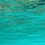 Superficie subacuática Foto de archivo