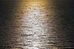 Superficie tranquilla del mare Immagini Stock Libere da Diritti