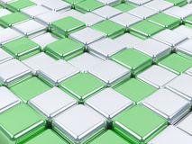 superficies brillantes del mosaico 3d. Fotos de archivo