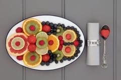 Superfood antiossidante fotografie stock
