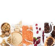 Superfood blandningskivor Royaltyfria Bilder