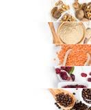 Superfood blandningskivor Royaltyfri Foto