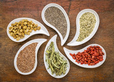 Superfood collection Stock Photo
