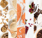 Superfood Mix Slices Stock Images