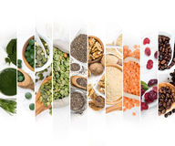 Superfood Mix Slices Stock Image