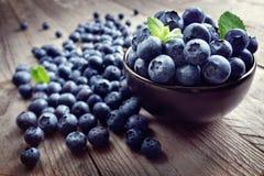 Superfood orgánico antioxidante del arándano foto de archivo libre de regalías