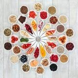 Superfood per un cuore sano Fotografia Stock Libera da Diritti