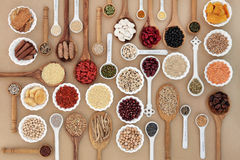Superfood pour des bonnes santés Photographie stock