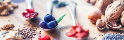 Superfood sano Fotografia Stock