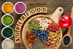 Superfood royalty free stock photos