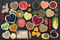 Superfood to Slow the Ageing Process stock images