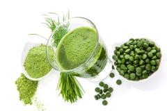 Superfood verde. fotografie stock
