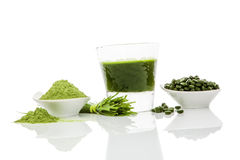 Superfood vert. Photographie stock libre de droits