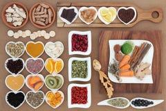 Superfood voor Koude Behandeling stock foto's