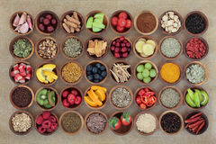 Superfood voor Koude Remedie Stock Foto