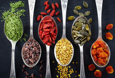 Superfoods image stock