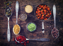 Superfoods стоковое фото rf