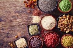 Superfoods immagine stock libera da diritti