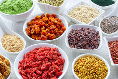 Superfoods Stockfoto