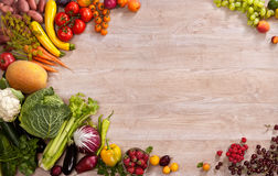 Superfoods background Stock Image