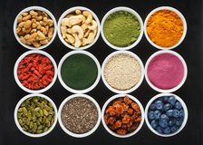 Superfoods Royalty Free Stock Photos