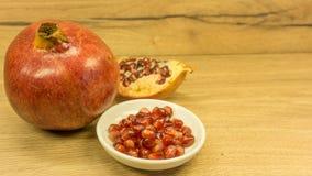 superfoods för pomegranate för makro en för cholesterol kan tätt lägre sköt frö upp arkivfoto