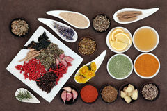 Superfoods Royalty Free Stock Images