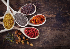 Superfoods Royalty Free Stock Photo