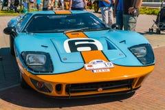 Superformance GT40老朋友每年全国老朋友天在莱利斯塔德 库存图片