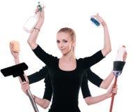 Superfrau Lizenzfreies Stockfoto