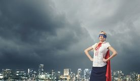 Superfrau Lizenzfreie Stockbilder