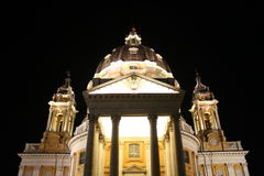Superga basilica by night Stock Photography