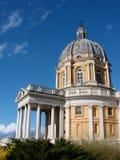 Superga Basilika in Turin, Italien Stockfotos