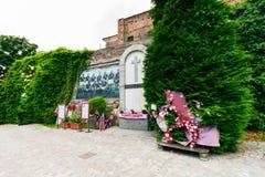 Superga bazylika, ` Torino ` futbolu Grande pomnik Obrazy Royalty Free