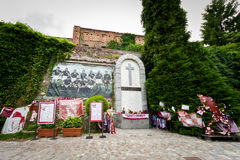 Superga bazylika, ` Torino ` futbolu Grande pomnik Fotografia Royalty Free