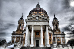 Superga Church - HDR Royalty Free Stock Photo