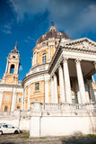 Superga church in Torino Stock Images
