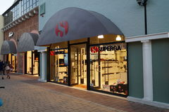 Superga store Stock Photography