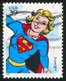 Supergirl Imagen de archivo libre de regalías