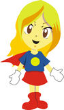 Supergirl Royalty Free Stock Photography